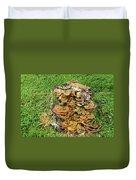 Fungus Bouquet Duvet Cover