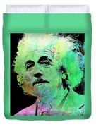 Funky Einstein  Duvet Cover