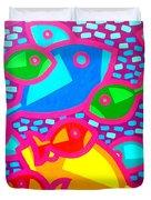 Funky Fish Duvet Cover