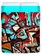 Funky Pop-6 Duvet Cover