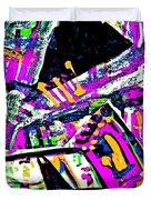 Funky Pop-7 Duvet Cover