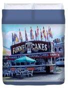 Funnel Cakes Duvet Cover