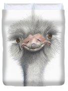 Funny Face Duvet Cover
