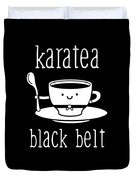 Funny Karate Design Karatea Black Belt White Light Duvet Cover