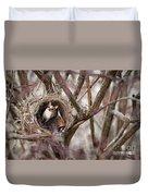 Funny Little Bird Duvet Cover