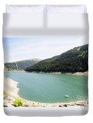 Funsingau Dam Near Gerlos Duvet Cover