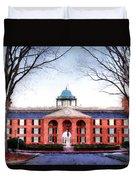 Furman University Judson Hall  Duvet Cover