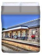 Furnace Sidings Railway Station 2 Duvet Cover