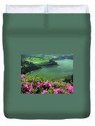 Furnas Lake Azores Duvet Cover
