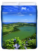 Furnas Lake Duvet Cover