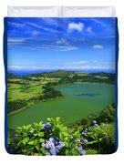 Furnas Lake Duvet Cover