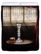 Furniture - Lamp -  The Oil Lamp Duvet Cover
