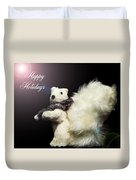 Furry Holiday Duvet Cover