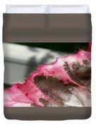 Furry Leaf Duvet Cover