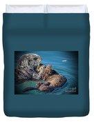 Furry Nurturance Duvet Cover