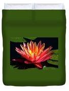 Fushia Waterlily 1 Duvet Cover