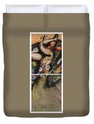 Fusion II - Diptych Duvet Cover