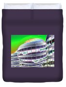 Future Office Space Duvet Cover by Carol Groenen