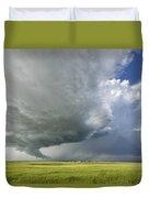 Future Tornado Duvet Cover