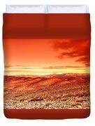 Futuristic Landscape Duvet Cover