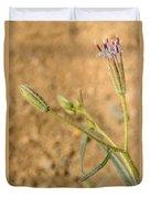 Fuzzy Flower Duvet Cover