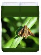 Fuzzy Moth Duvet Cover