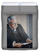 G K Chesterton Duvet Cover