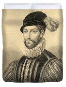 Gabriel De Lorges, Comte De Montgomery Duvet Cover