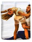 Gabriella Papadakis And Guillaume Cizeron Duvet Cover