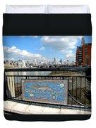 Gabriel's Wharf Duvet Cover