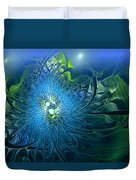 Gaia's Emergence Duvet Cover