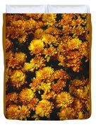 Gaia's Gold Duvet Cover