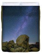 Galactic Desert Duvet Cover