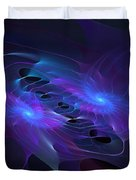 Galactic Duel Duvet Cover