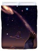 Galactic Migration Duvet Cover