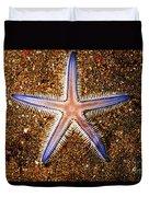 Galapagos Colorful Seastar Duvet Cover