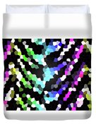 Galaxy In Time Abstract Design Duvet Cover