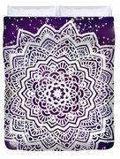 Galaxy Mandala Duvet Cover