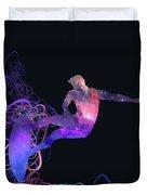Galaxy Surfer 3 Duvet Cover