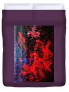 Galaxy Without Gravity Duvet Cover