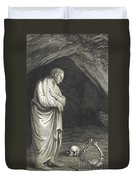 Galen, Greek Physician And Philosopher Duvet Cover