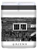 Galena Antiques Duvet Cover
