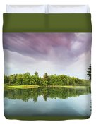 Gale's Pond Early In The Morning Duvet Cover