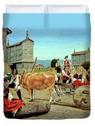 Galicia Medieval Duvet Cover