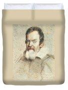 Galileo Galilei Duvet Cover