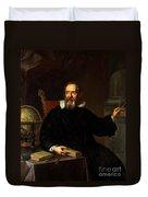 Galileo Galilei, Italian Astronomer Duvet Cover