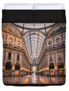 Galleria Milan Italy II Duvet Cover