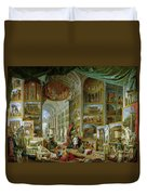 Gallery Of Views Of Ancient Rome Duvet Cover