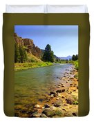 Gallitan River 1 Duvet Cover