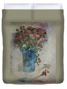 Gallon Can Florals Duvet Cover
